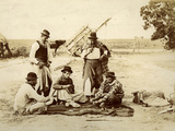 A Friendly Game During the Midday Siesta  Argentina  1900