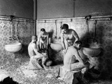 A Hammam in Paris  c1900