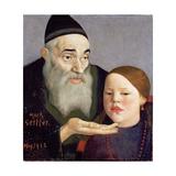 The Rabbi and His Grandchild  1913