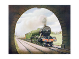 The 'Queen of Scots' of the North Eastern Railway  Illustration from 'The Wonder Book of…