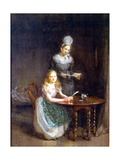 The Governess  C1860