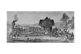 The Village Depot  Illustration from 'Harper's Weekly'  1868  from 'The Pageant of America …