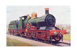 'Wilkinson' of the Great Western Railway  Illustration from 'The Book of the Locomotive' by G…