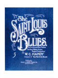 Front Cover of 'The Saint Louis Blues'  by WC Handy (1873-1958) 1941