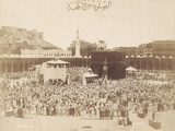 Praying around the Kaaba  Mecca  1900