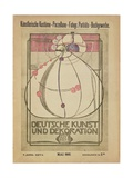 Deutsche Kunst Und Dekoration  May 1902
