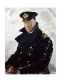 Lieutenant Grahame Johnstone  DSC  RNVR (D1946) 1940