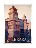 Poster Advertising Ferrara  1928