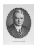 Portrait of Herbert Hoover (1874-1964) 31st President of the United States of America