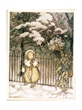 """Winter"" from 'Peter Pan in Kensington Gardens' by JM Barrie  1906"