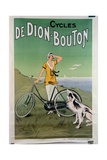 Poster Advertising the 'De Dion-Bouton' Cycles  1925