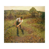 Mowing Bracken  1903