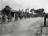 English Soldiers on Bicycles