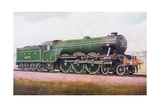 The 'Flying Scotsman' of the London and North Eastern Railway  Illustration from 'The Book of the…