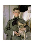 Portrait of Count Feliks Feliksovich Sumarokov-Yelstov (1887-1967) Later Prince Yusupov  1903