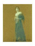 Woman in Blue  1919