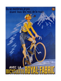 Poster Advertising Cycles 'Royal-Fabric'  1910