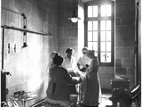 Operating Theatre of the Scottish Women's Hospital in the Abbey of Royaumont  1915
