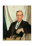 Portrait of Woodrow Wilson (1856-1924) c1919