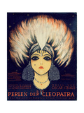 Cover for Score of 'Die Perlen Der Cleopatra'  Operetta by Oscar Straus  1923