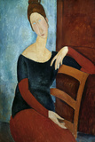 The Artist's Wife (Jeanne Huberterne) 1918