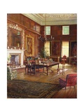 Interior of the State Room  Governor's House  Royal Hospital  Chelsea  1922