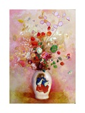 Bouquet of Flowers in a Japanese Vase  c1905-08