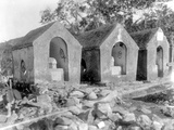 Tombs  Used for the Smallpox Epidemic of 1902  Haiti  1908-09