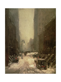 Snow in New York  1902
