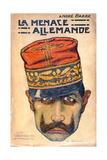 'The German Menace' Kaiser Wilhelm II (1859-1941) c1909