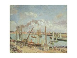 The Port of Le Havre  Afternoon  Sun  1903