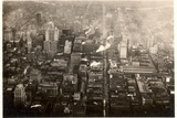 Aerial Photo of Downtown Philadelphia  Taken from the LZ 127 Graf Zeppelin  1928