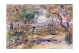 Paysage a Cannes (Renoir's Garden) c1914