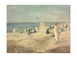 The Beach at Ambleteuse  1901