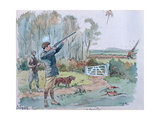 The Month of October: Pheasant Shooting