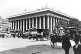 The Bourse  Paris  c1900