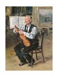 A Violin Maker  1914