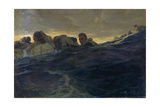 Survivors in the Sea from the Wreck of the 'Jacob Jones'