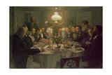 An Artist's Gathering  1903
