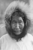 An Old Woman from Point Barrow  Alaska  1921-24