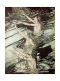 The Rhine Maidens  from 'Siegfried and the Twilight of the Gods' by Richard Wagner  1911
