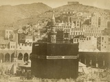 The Kaaba  Mecca  1900