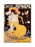 Poster for the Concert de La Pepiniere  1902