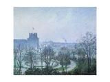 White Frost  Jardin des Tuileries  1900