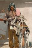 A Moki Indian Farmer  1900
