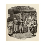 Oliver Introduced to the Respectable Old Gentleman  from 'The Adventures of Oliver Twist' by…