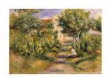 The Painter's Garden  Cagnes  c1908
