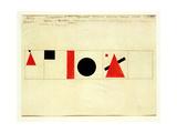 Design for the Speaker's Rostrum  1919