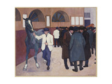 Horse Dealers at the Barbican  1918
