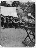 White Man's Magic: The Gramophone Astonishes the Wakonja Natives  from an A